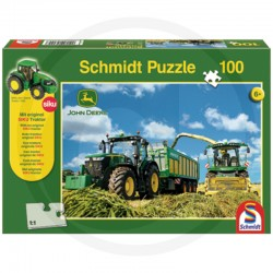 Dėlionė John Deere Puzzle with SIKU Traktor 60056044