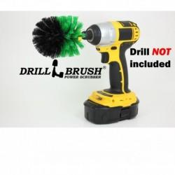 """""""DRILL BRUSH"""" Original Green minkštas šepetys suktukams ir gręžtuvams, 7,5 cm"""