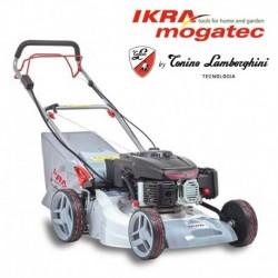 Benzīna pašgājējs zāles pļāvējs elektriskais starteris IKRA IBRM 1448E TL