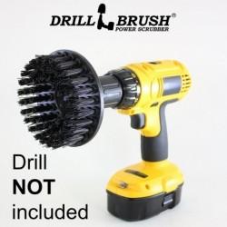 """""""DRILL BRUSH"""" Black ypač kietas šepetys suktukams ir gręžtuvams, 13 cm"""