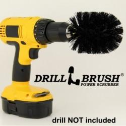 """""""DRILL BRUSH"""" Original Black ypač kietas šepetys suktukams ir gręžtuvams, 7,5 cm"""