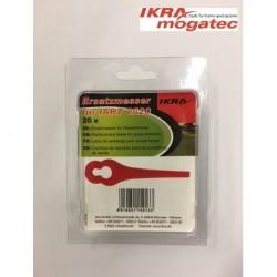 "Nylon blades 20 pcs. for ""IKRA mogatec"" cordless grass trimmer IART 2520"